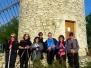 Randonnée marche nordique Abbaye St Michel de Frigolet Samedi 1 Décembre 2018